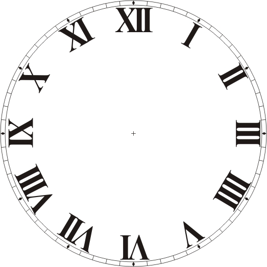 Free clock dials for Clock face templates for printing