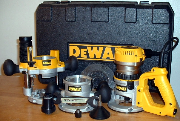 Dewalt 618 dw618pk router kit click to view larger photo greentooth