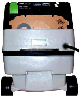 Festool CT MINI Rear View