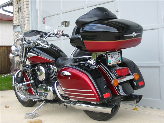 Best Trunk W Rack For 08 Nomad Vulcan Bagger Forums